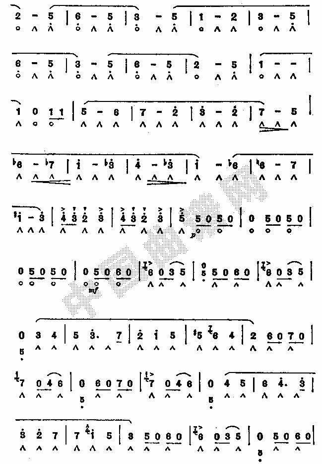 珠宝圆舞曲五歌谱 歌谱珠宝圆舞曲五下载 简谱下载 五线谱下载 曲谱网