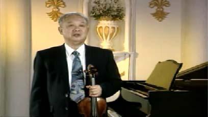 视频小提琴教学马思聪山歌