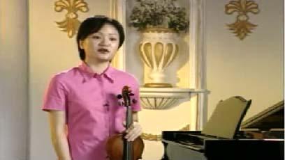 视频小提琴教学茅源新春乐