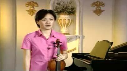 视频小提琴教学亨德尔第六奏鸣曲第二乐章