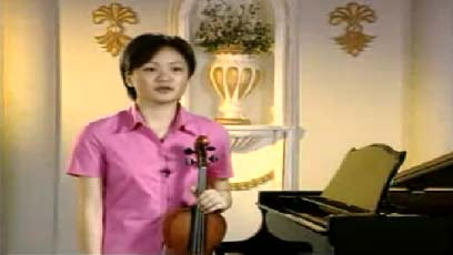 视频小提琴教学亨德尔第六奏鸣曲第一乐章