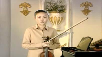 视频小提琴教学莫扎特小步舞曲