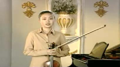 视频小提琴教学门德尔松春之歌