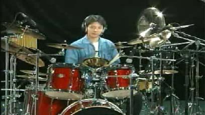 视频爵士鼓教学前十六分音符综合练习