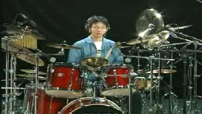 视频爵士鼓教学后十六分音符综合练习