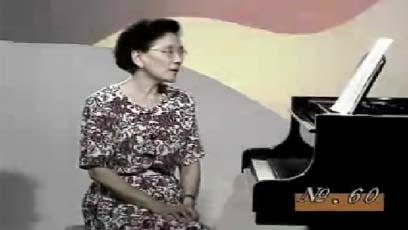 视频钢琴教学哈农NO.60