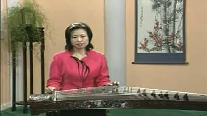 视频古筝教学建昌月