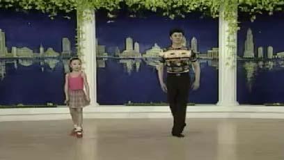 视频流行舞教学跟掌行进和跟掌段步练习(组合十二)