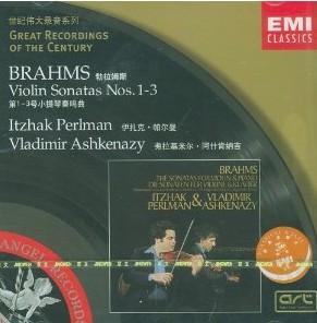 勃拉姆斯小提琴奏鸣曲全集CD